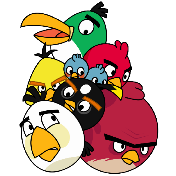 600x600 Angry Birds
