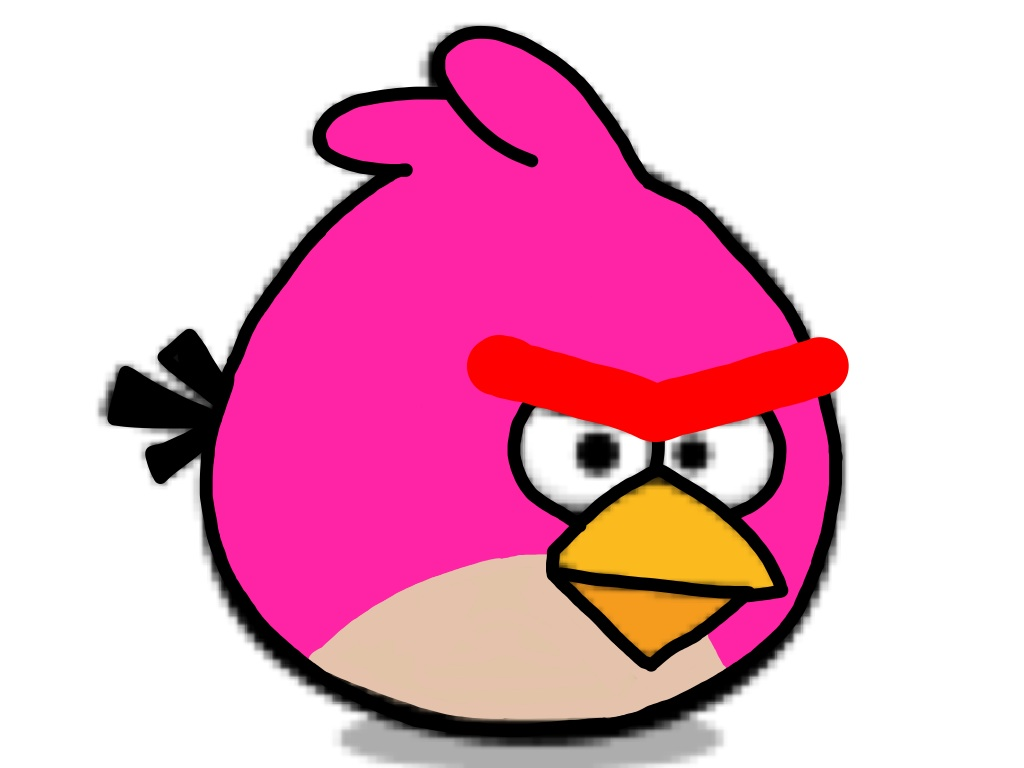1024x768 Angry Birds Clipart Download