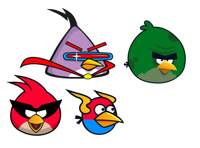690x512 Birds Border Clipart
