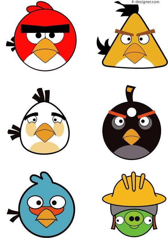 550x781 Birthday Clipart Angry Bird