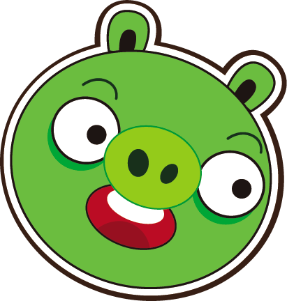 411x432 Graphics For Angry Birds Pigs Graphics
