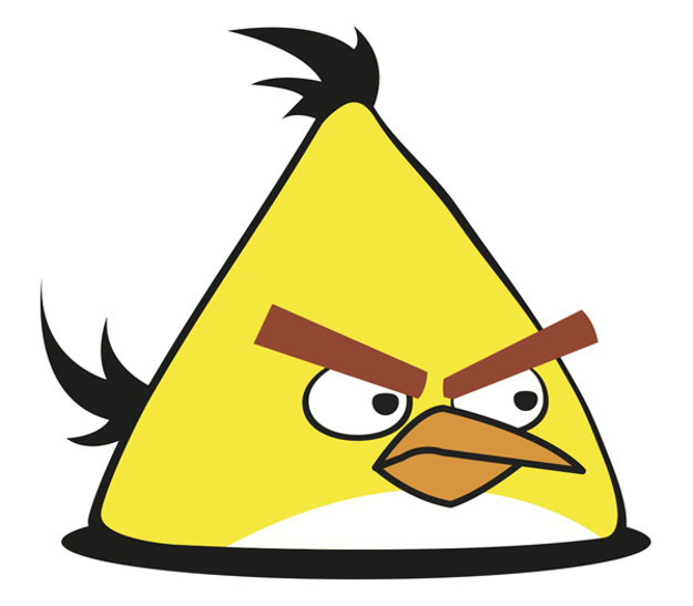 625x547 Yellow Angry Bird Vector Vector Free Download