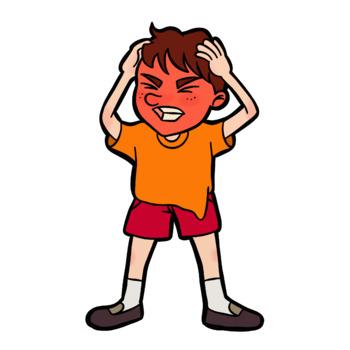 350x350 Angry Boy By Roseberry Clip Art Teachers Pay Teachers