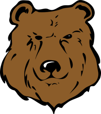 337x380 Grizzly Bear Clipart Cartoon