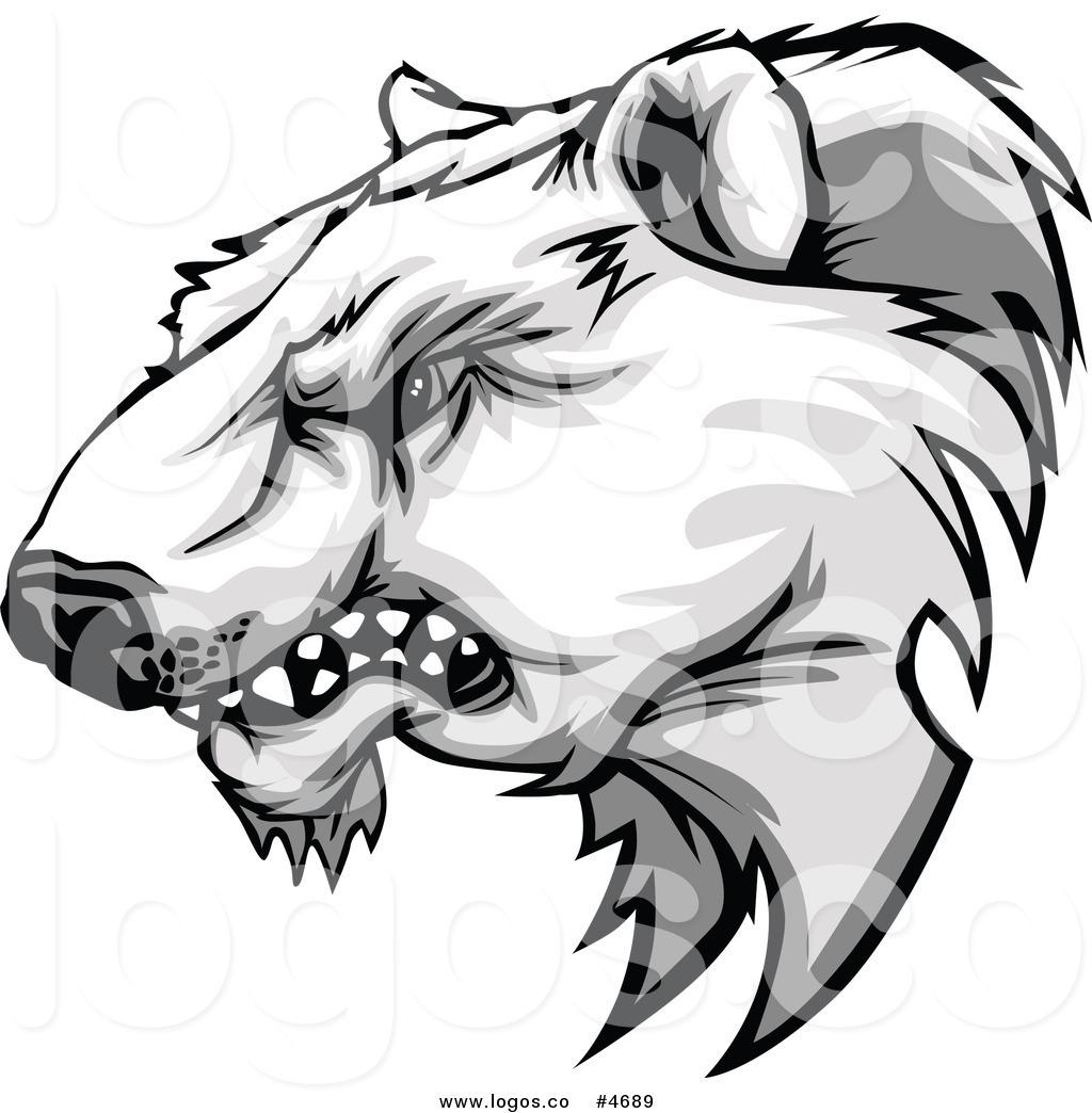 1024x1044 Polar Bear Clipart Angry