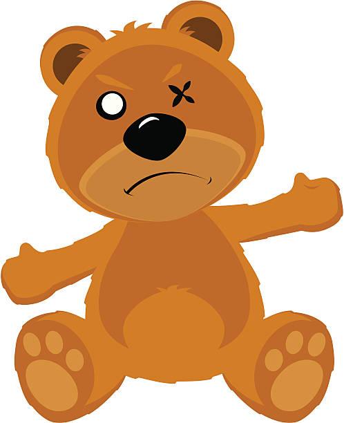 498x612 Teddy Bear Clipart Angry