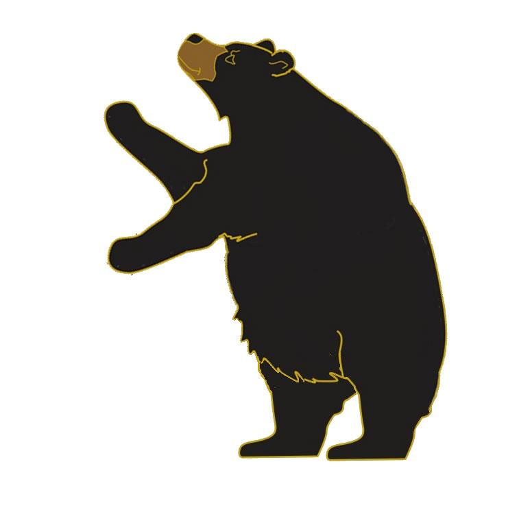 738x772 Black Bear Clipart Angry