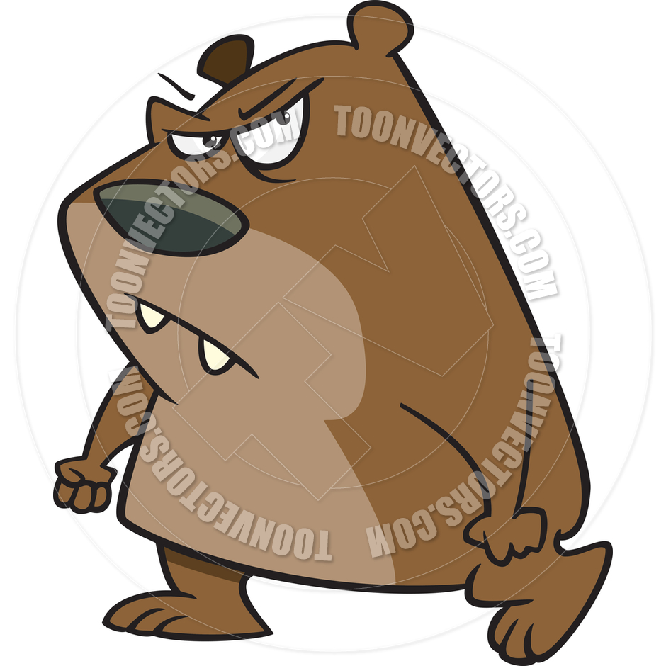 940x940 Brown Bear Clipart Angry