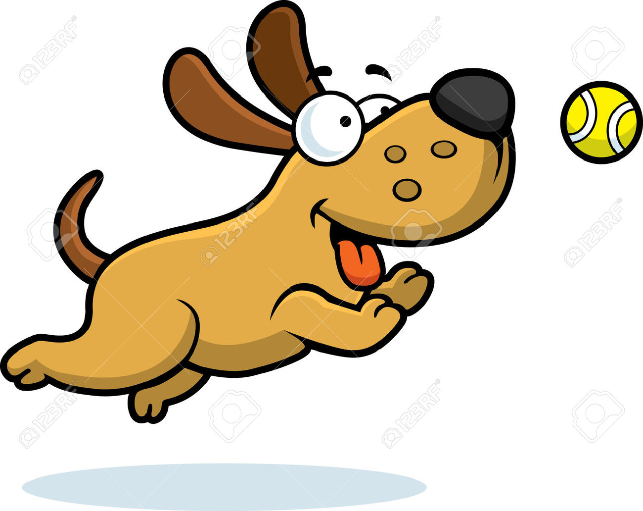 1300x1032 Chase Clipart Dog Ball