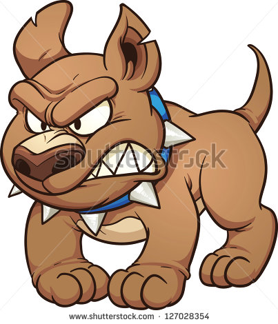 403x470 Ferocious Clipart Mad Dog