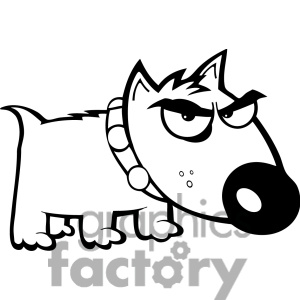 300x300 Puppy Clipart Angry