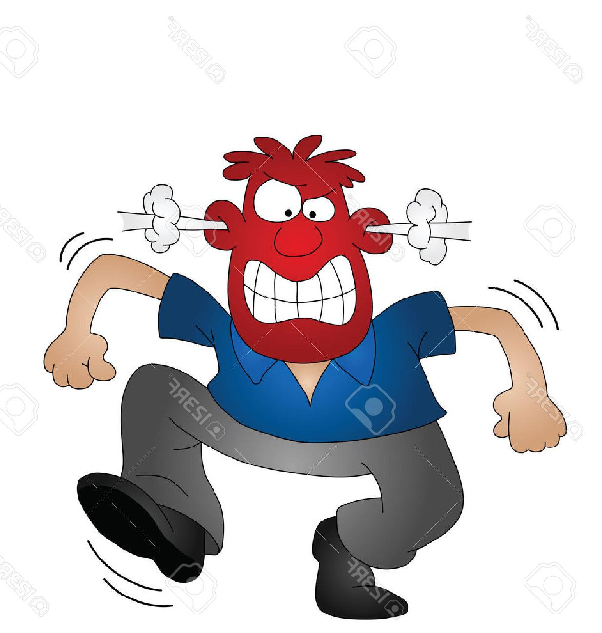 1235x1300 Best Angry People Cartoon Vector Images