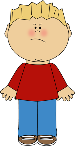 258x500 Boy with an Angry Face EMOCIONES MATERIAL Angry