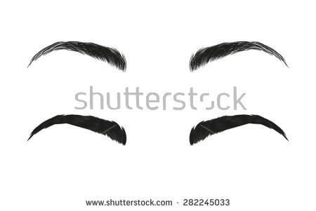 450x301 Eyebrow Clipart