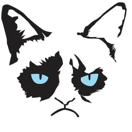 450x450 Feline Clipart Angry