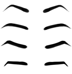 249x257 Angry Eyebrows Cliparts