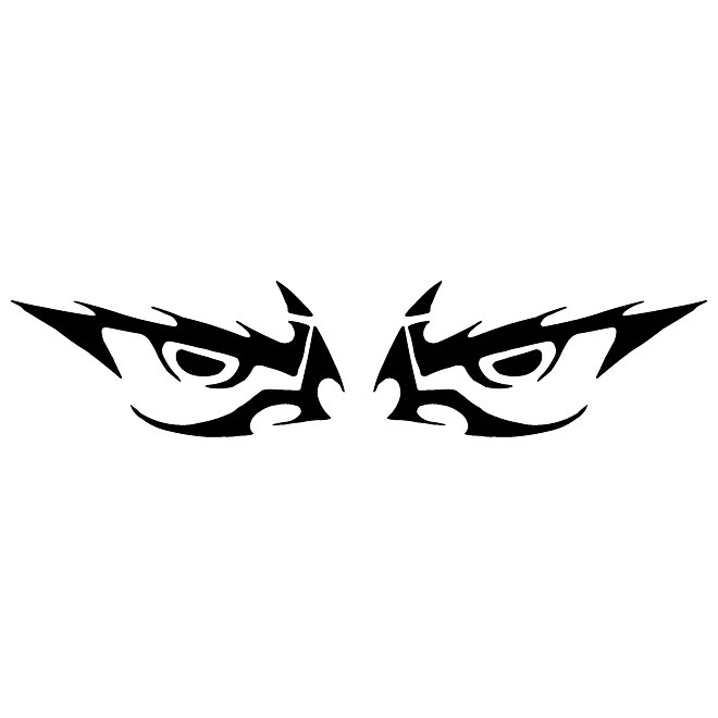660x660 Evil Eyes Vector Clip Art