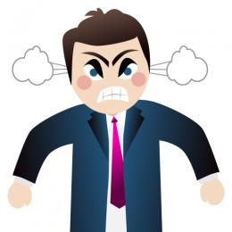 260x260 Anger Clipart