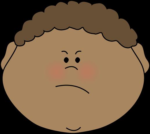 517x462 Angry Little Boy Clip Art