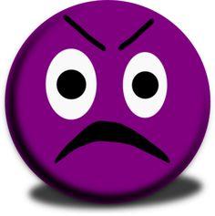 236x237 Purple Crying Smiley Face Clip Art Glassy Smiley Emoticon Clip