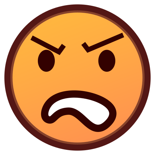 512x512 Angry Face Emoji For Facebook, Email Amp Sms Id  9924 Emoji.co.uk