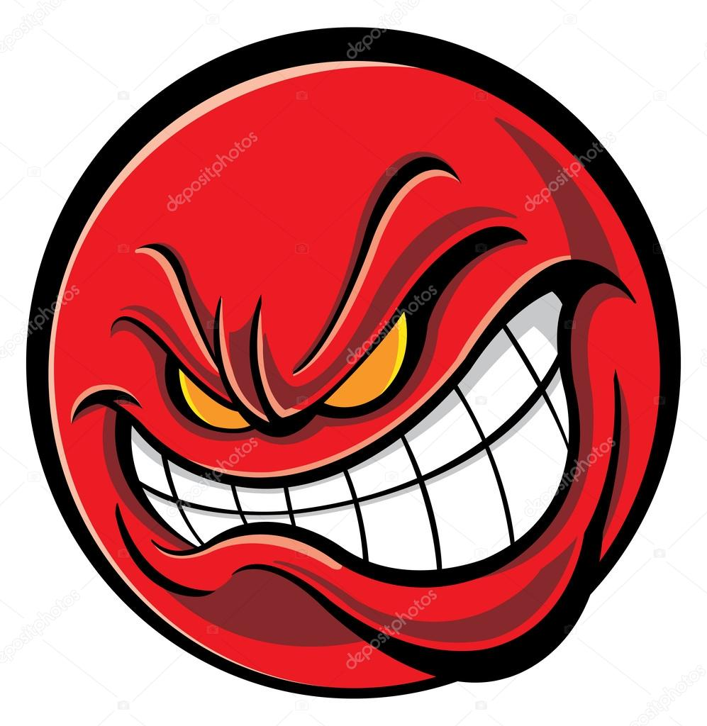 997x1024 Angry Face Stock Vector Slipfloat