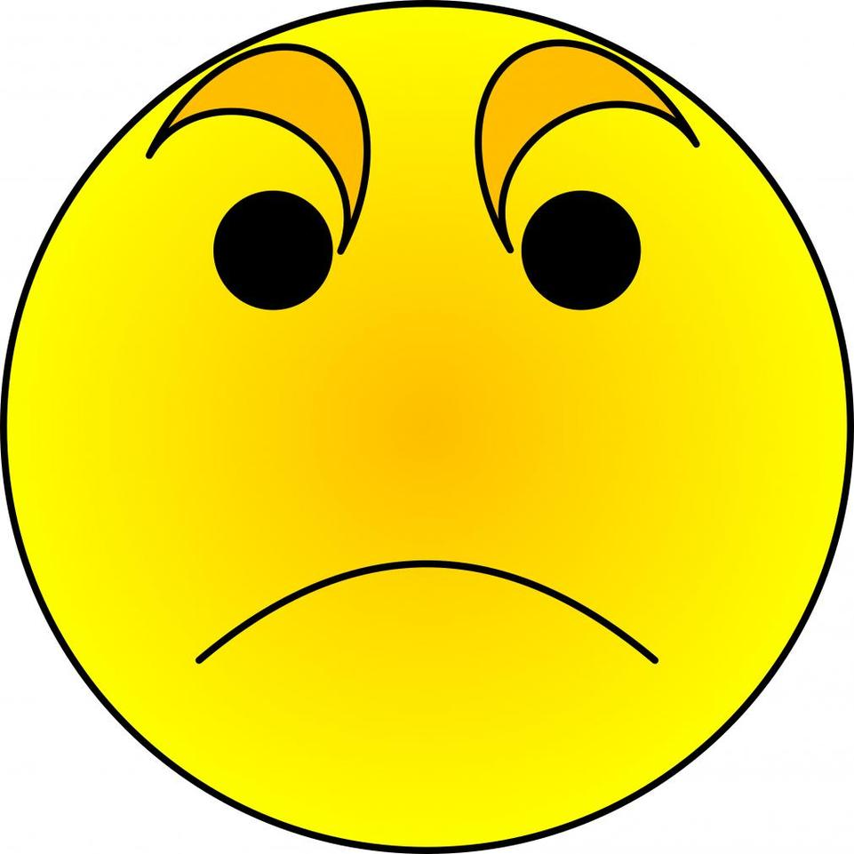 961x961 Expression Clipart Angry Face
