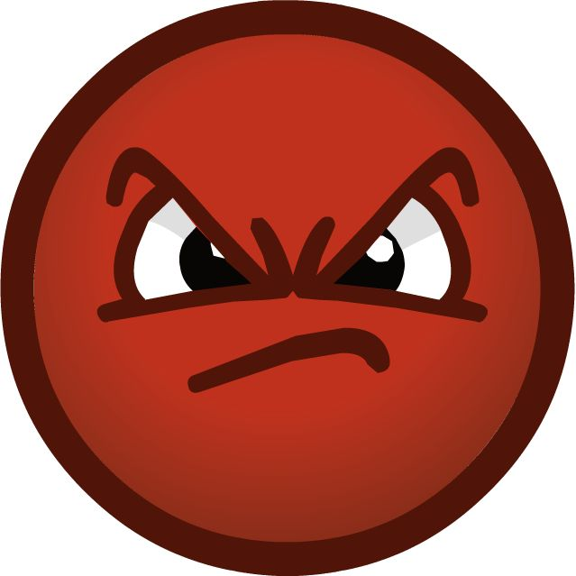 Angry Faces Clipart