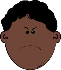 261x299 Angry Boy Clip Art