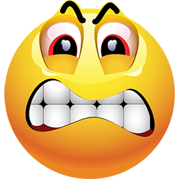 256x256 Angry Face Emoticons For Facebook, Email Amp Sms Id  147 Funny