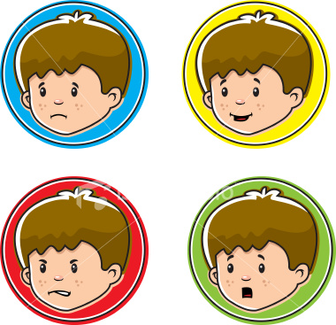 380x367 Clipart Faces Emotions