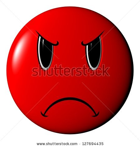 450x470 Red Angry Face Clip Art