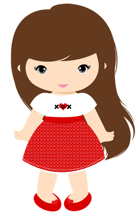 286x445 Clipart Of A Little Girl