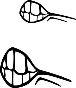 258x299 Angry Mouth Clip Art