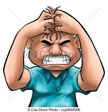 450x465 Frustrated Person Clip Art Clipart