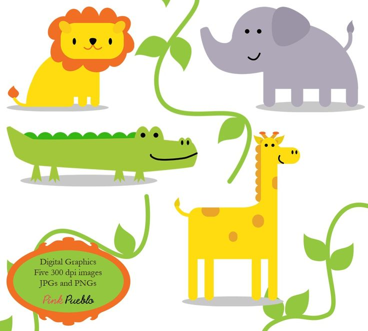 Animal Backgrounds Cliparts