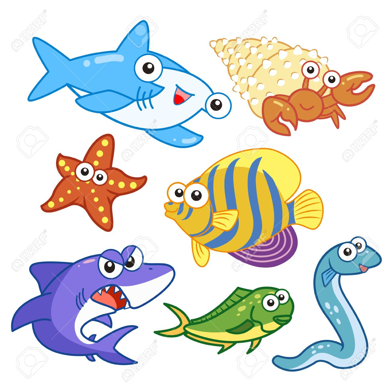 1300x1300 Sea Bed Clipart Fish Background
