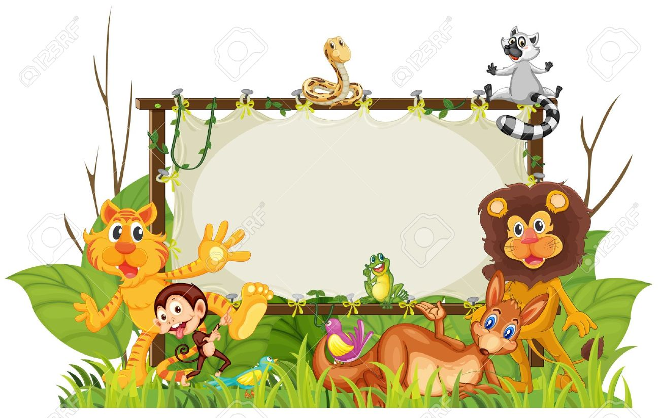 1300x824 Zoo Clipart Background