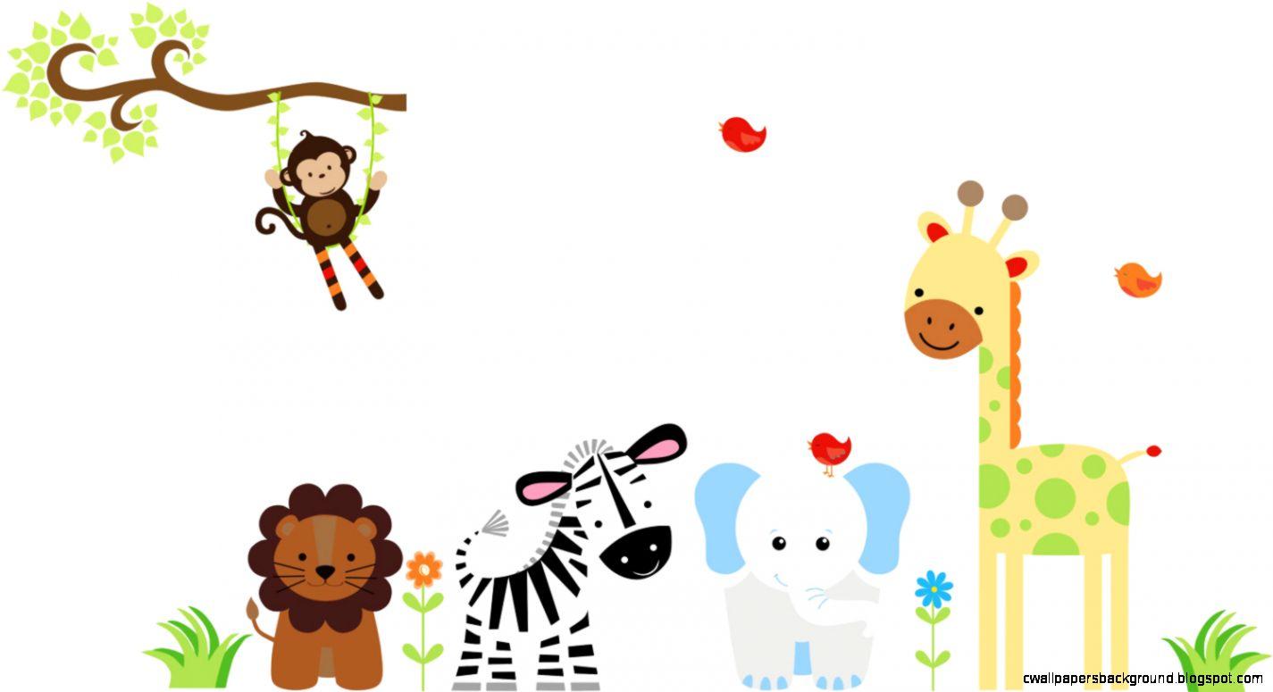 1425x775 Baby Animal Border Clip Art