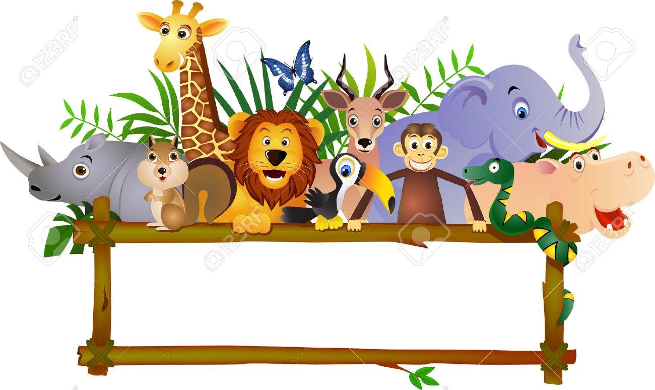 1300x774 Zoo Clipart Border