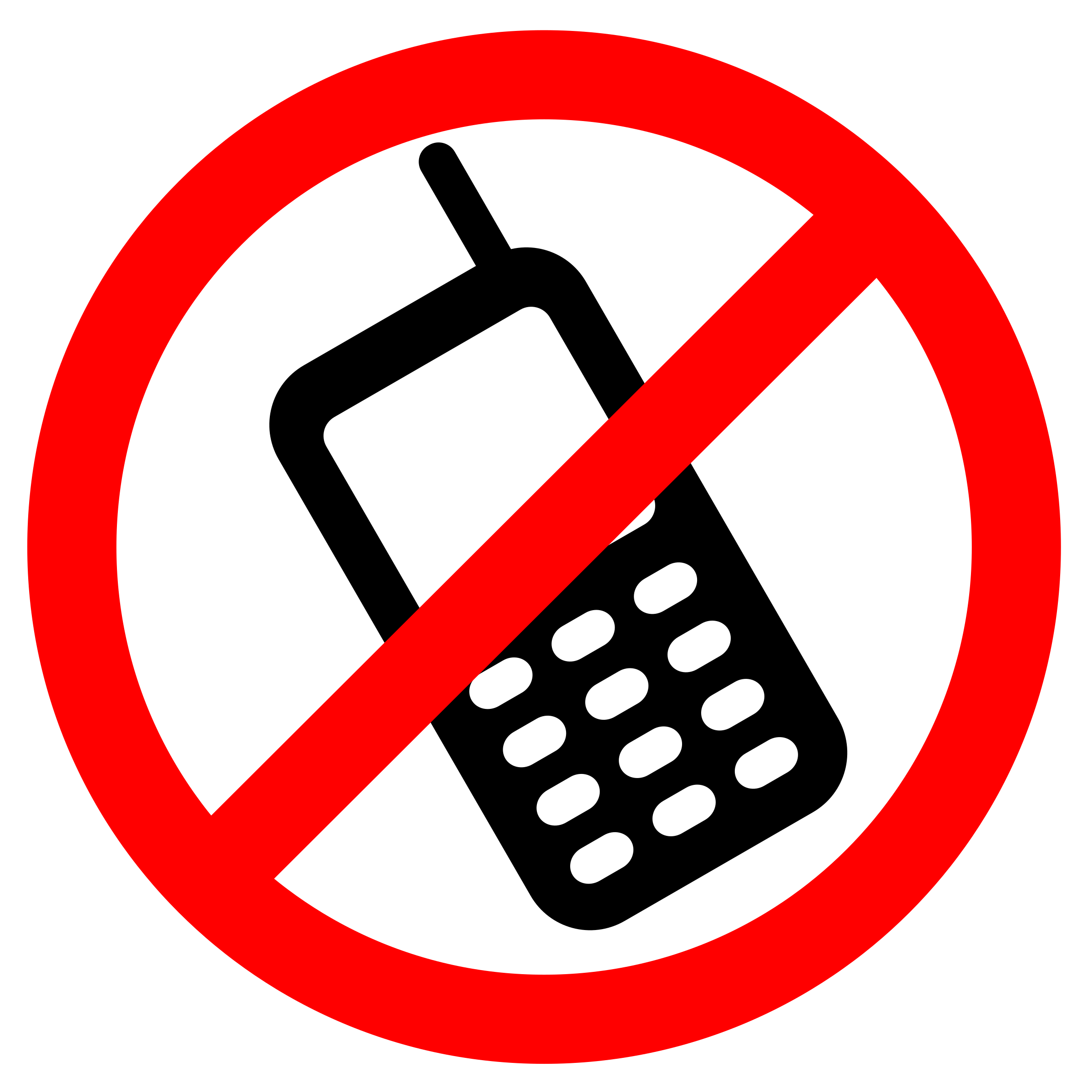 2400x2400 Cell Phones Clipart