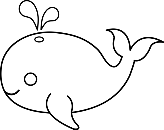 550x437 Free Black And White Animal Clipart Image