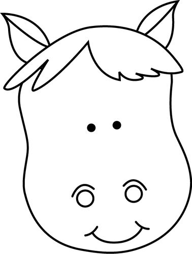 Animal Clipart Black And White Free
