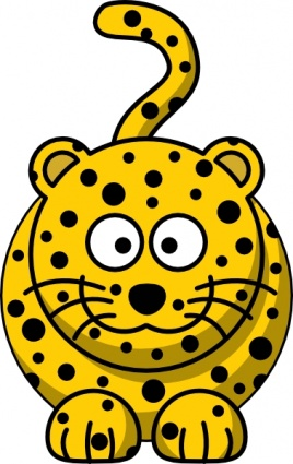 268x425 Cute Yellow Animal Clipart