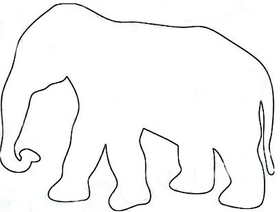 970x736 Coloring Animal Outlines Printable Coloring Btardxz5c Outline