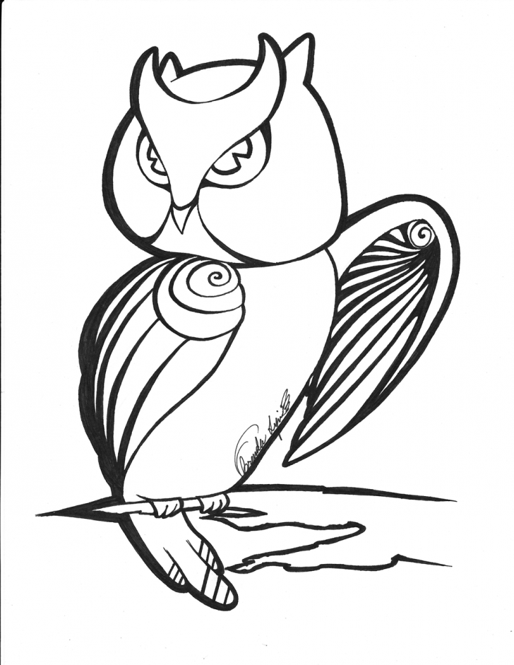 728x941 Outline Ofn Owl Cliprt Library Cliparts To Colournimal On