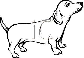 350x244 Royalty Free Dog Clip Art, Dog Clipart