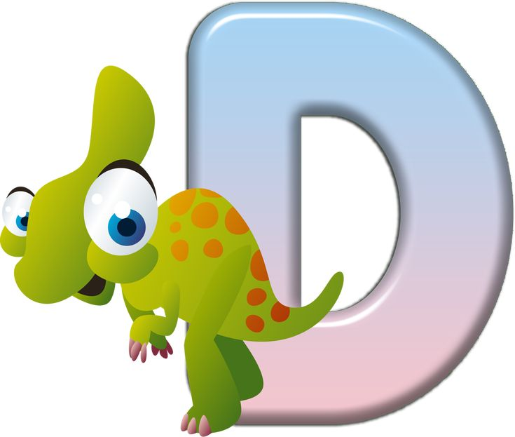 Animal Letters Clipart