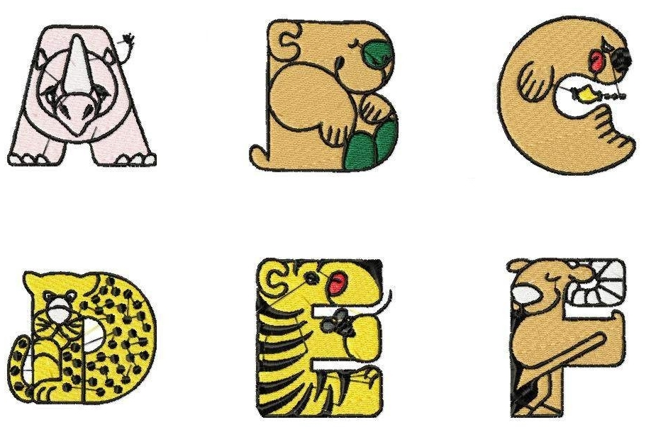 918x603 Animal Letter Cliparts 172622