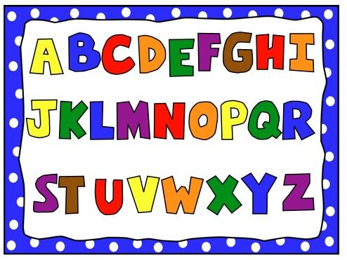 494x371 Alphabet Clipart Letter